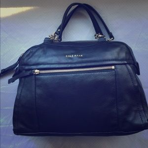 Cole Haan Small Leather Satchel
